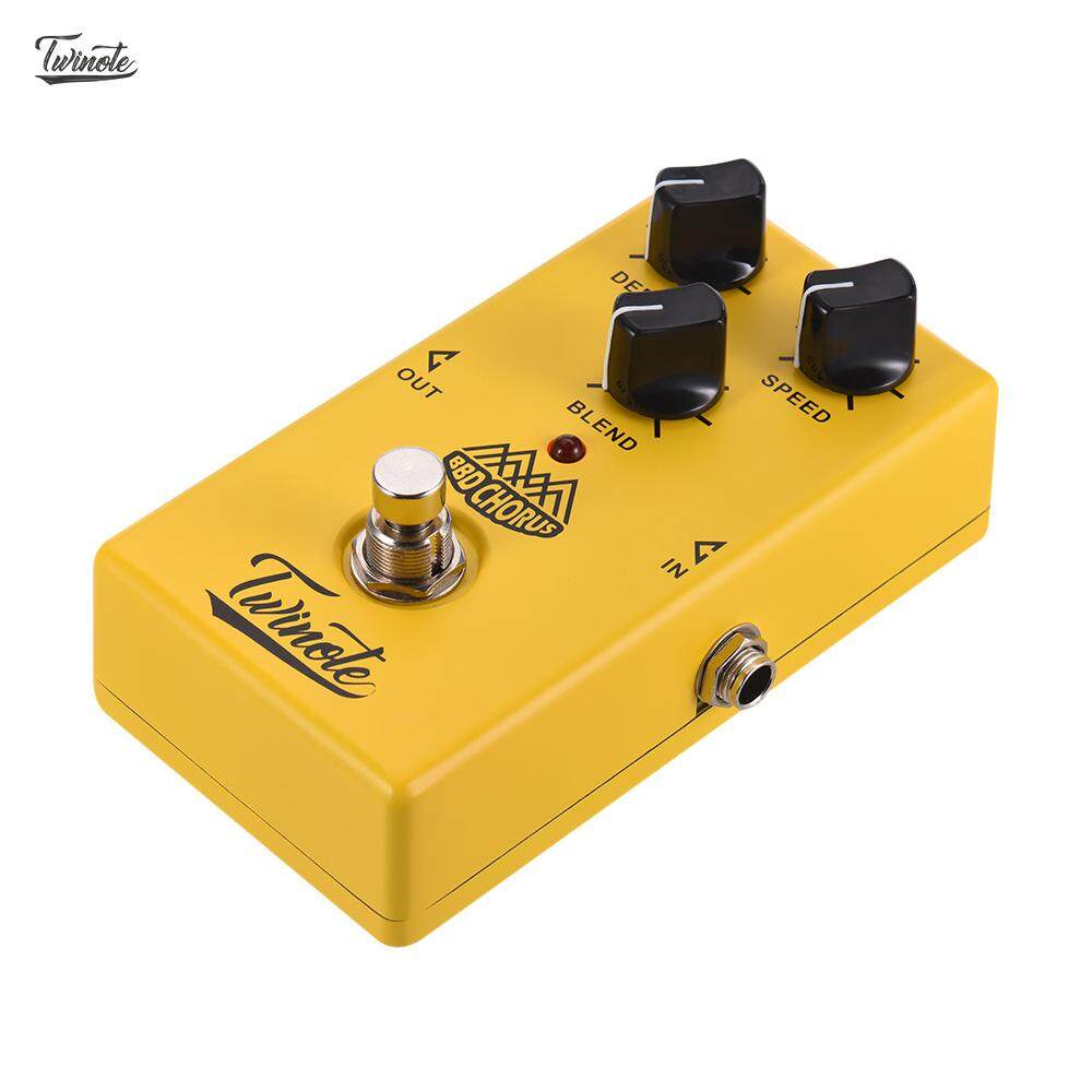 Twinote Bbd Chorus Analog Chorus Guitar Effect Pedal Processsor Full Metal Shell With True Bypass By Haitao.