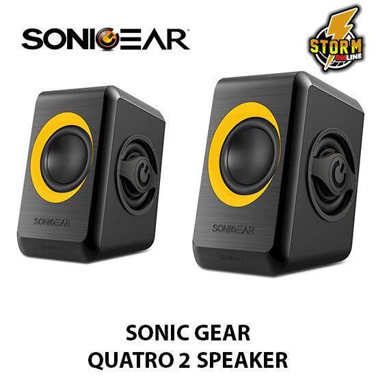 Sonic Gear Quatro 2 Speaker USB POWER SPEAKER Malaysia