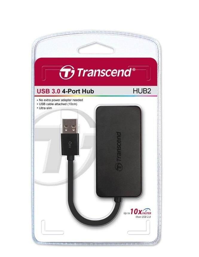 TRANSCEND USB HUB 3.0 4-PORTS (TS-HUB2K) Malaysia