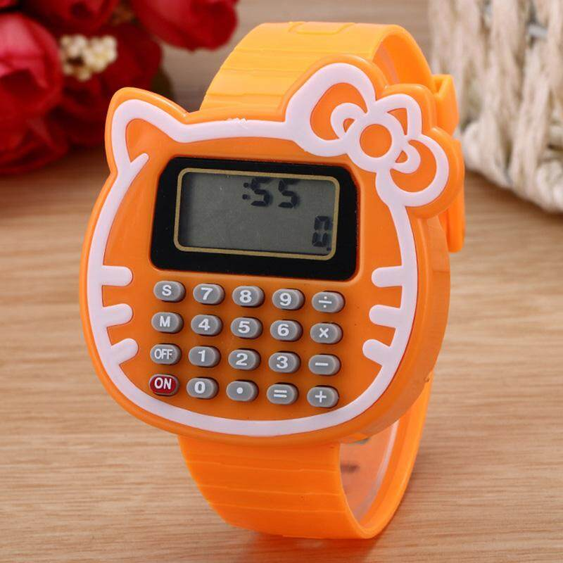 Student Calculator Electronic Watch Child Calculator Watch Cartoon Electronic Watch Child Student Watch Malaysia
