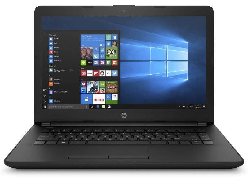 HP 14-bs726TU Laptop (i3-7020U 4GB 1TB UMA)( JET BLACK ) Malaysia