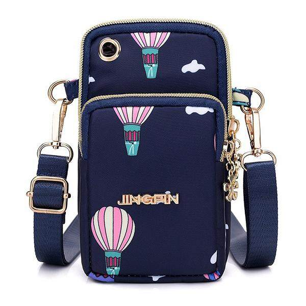 2018 New Korean Mobile Phone Bag Female Messenger Bag Mobile Phone Bag Hanging Neck Wrist Coin Purse Mini Bag Vertical By Moonbeam.