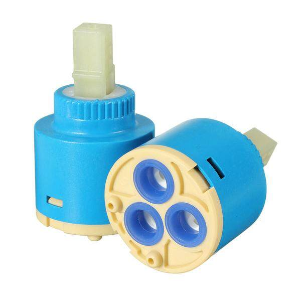 【Free Shipping + Super Deal + Limited Offer】2Pcs Bathroom Faucet Valve Mixer Tap Hot & Cold Ceramic Cartridge Replacement
