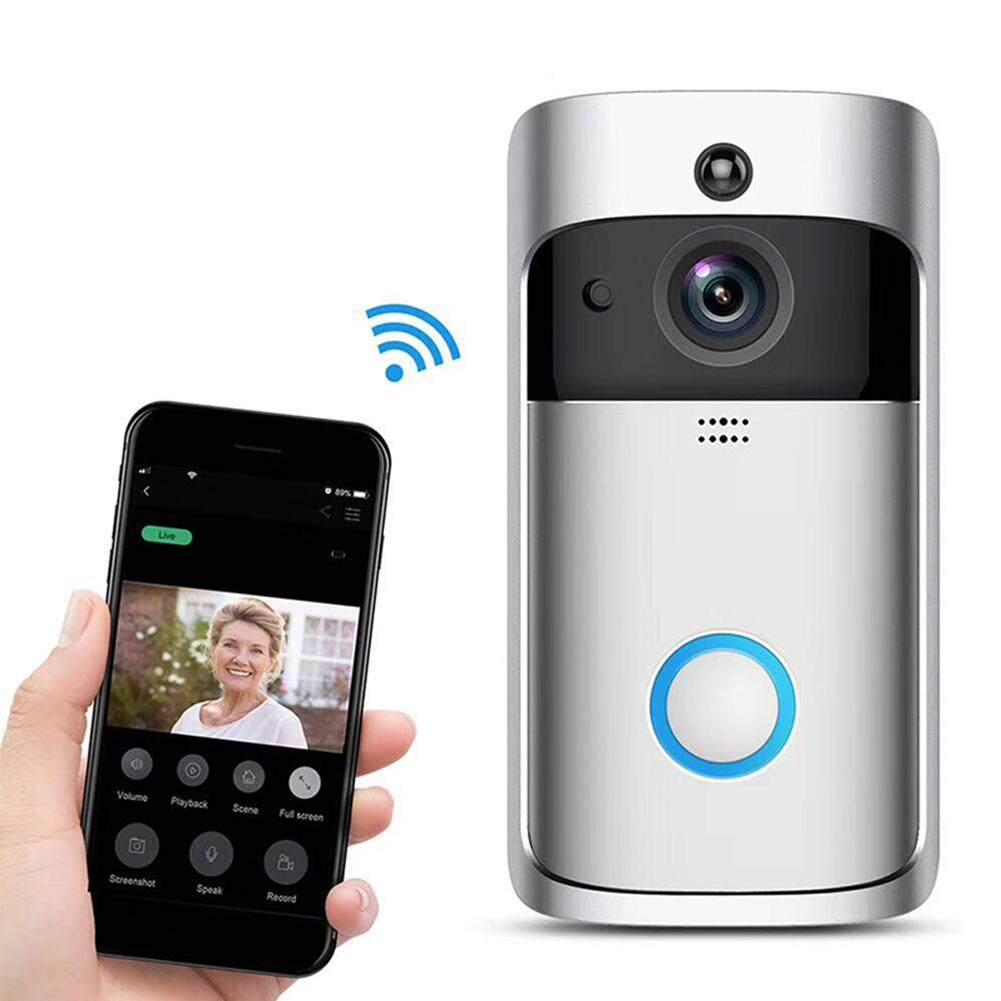 MG Wireless Video Doorbell Voice Intercom Home Wifi Phone Remote Electronic Cat Eye