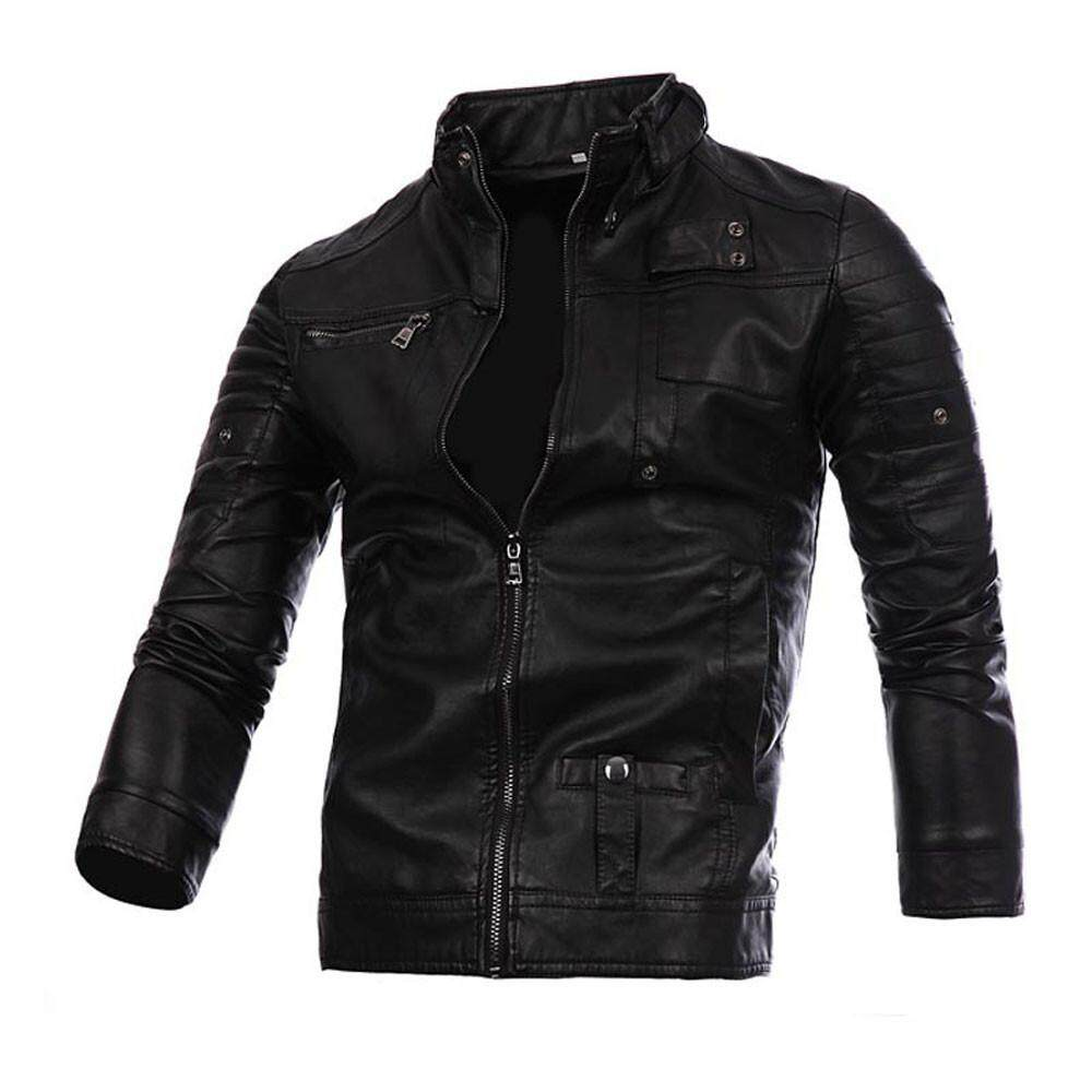 Popular T Shirts For Men The Best Prices In Malaysia Kaos Catching Fire Fashion Leather Jacket Autumnwinter Biker Motorcycle Zipper Outwear Warm Coat