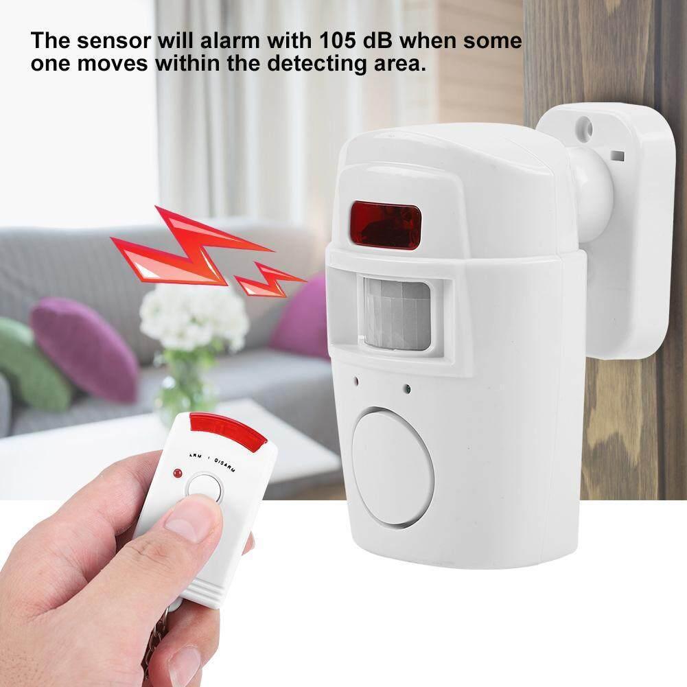 Wireless Intelligent 2 In 1 PIR Motion Detector Security Alert Alarm System
