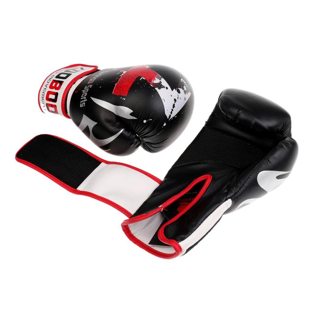 Flameer 1 Pair Kick Boxing Gloves Super Cool Sanda Punching Bag Mma Training Mittens By Flameer.