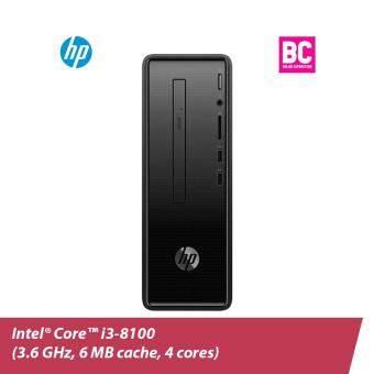 HP Slim 290-p0040d  (Dark black)