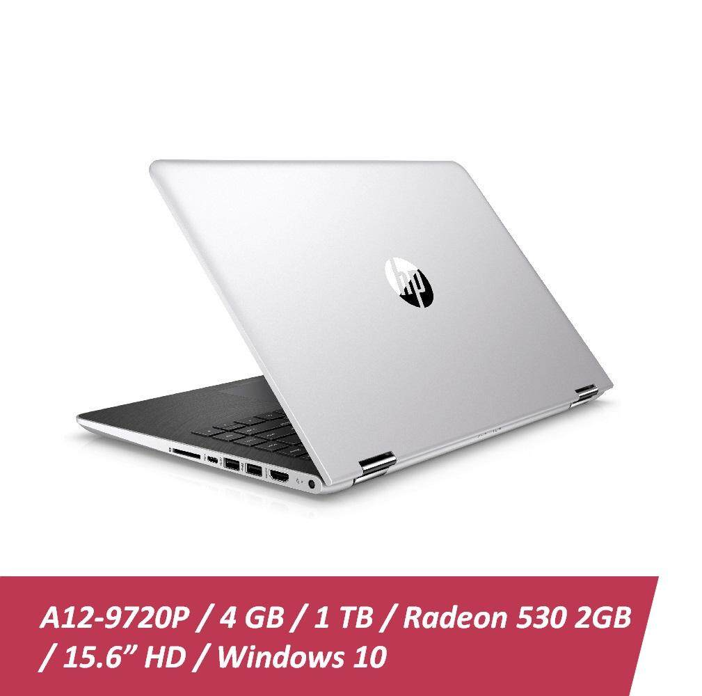 HP 15-bw075AX Laptop + Free HP X3000 Wireless Mouse + Car Sunshade (A12-9720P, 4GBD4, 1TB, AMD 530 4GB, 15.6, Win10) - Natural Silver Malaysia