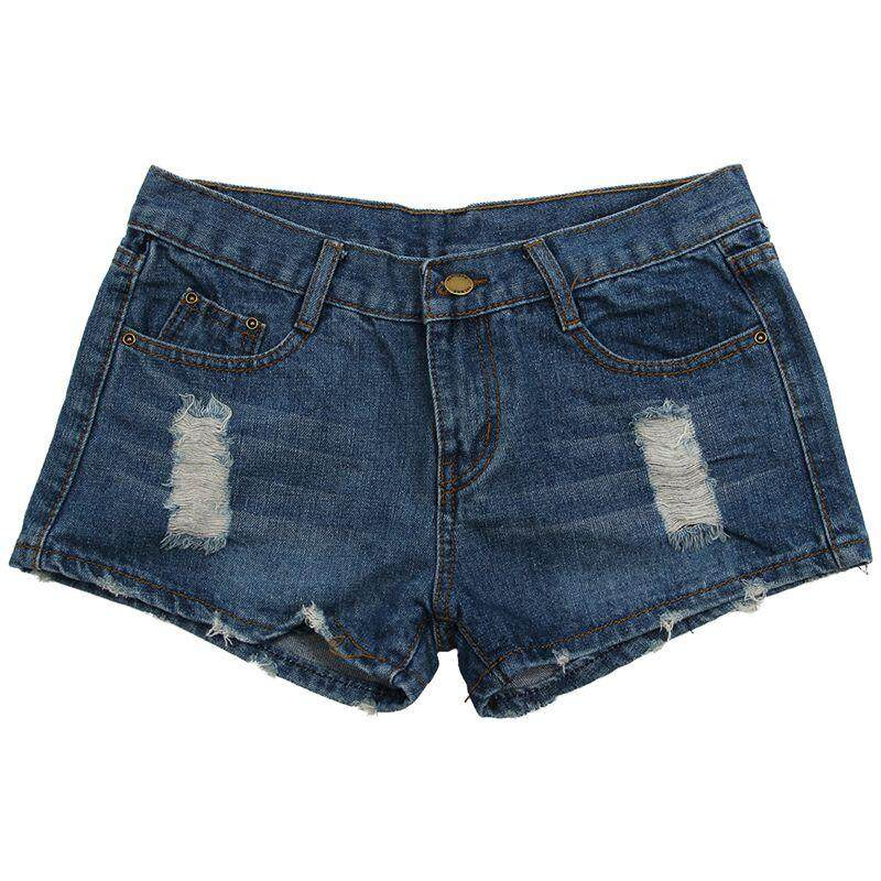Hot Sexy Women American Us Flag Mini Jeans Shorts Pants Trousers Denim Low Waist Xl By Fastour.