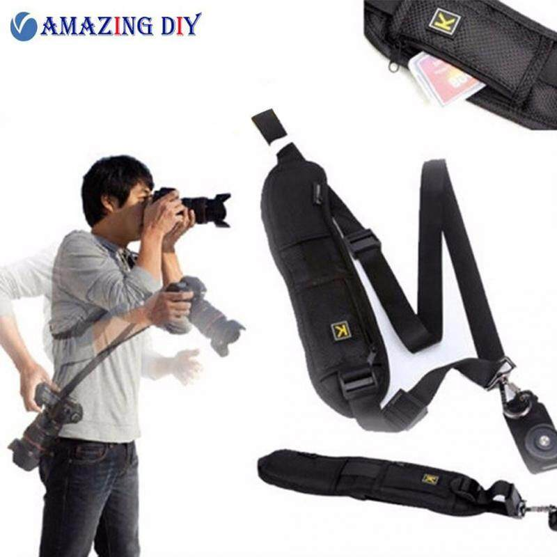 Professional Rapid Quick Release Camera Shoulder Sling Neck Wrist Strap For Canon Nikon Sony Dslr Ildc Dv Outdoor Shooting By Amazing Diy Store.