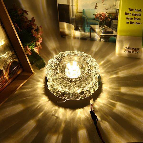 Simple LED round ceiling lamp aisle lights corridor light crystal lamp 5W  concealed