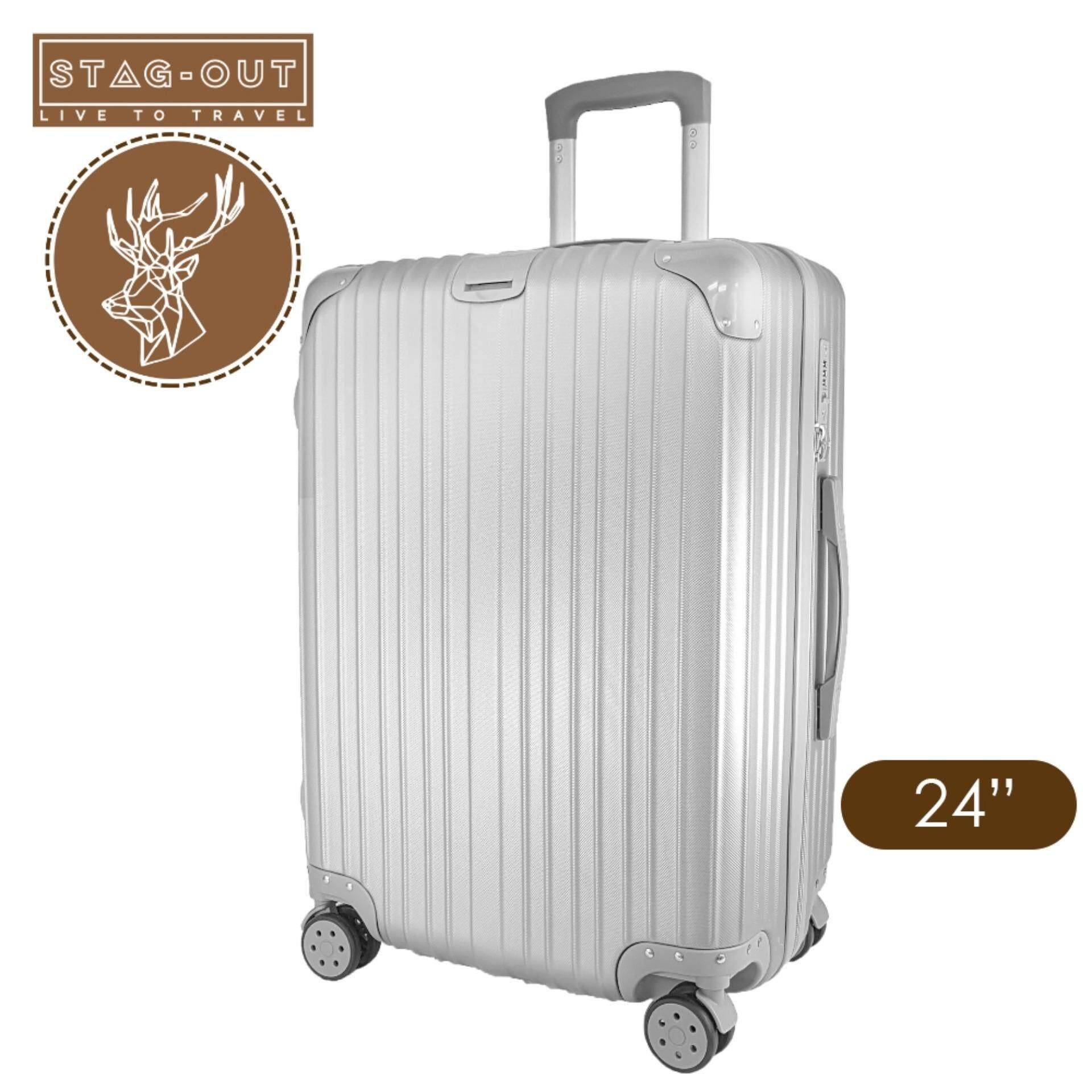 "[Stag-Out] Amirates Premium Glossy 24"" ABS+PC Hardcase Travel Check"