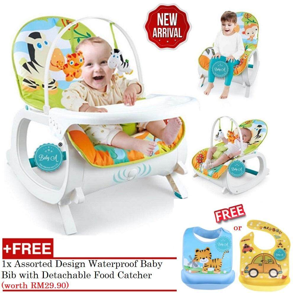 21eba10e0b8 BABY A Multipurpose Infant-to-Toddler Rocker Bouncer and Chair
