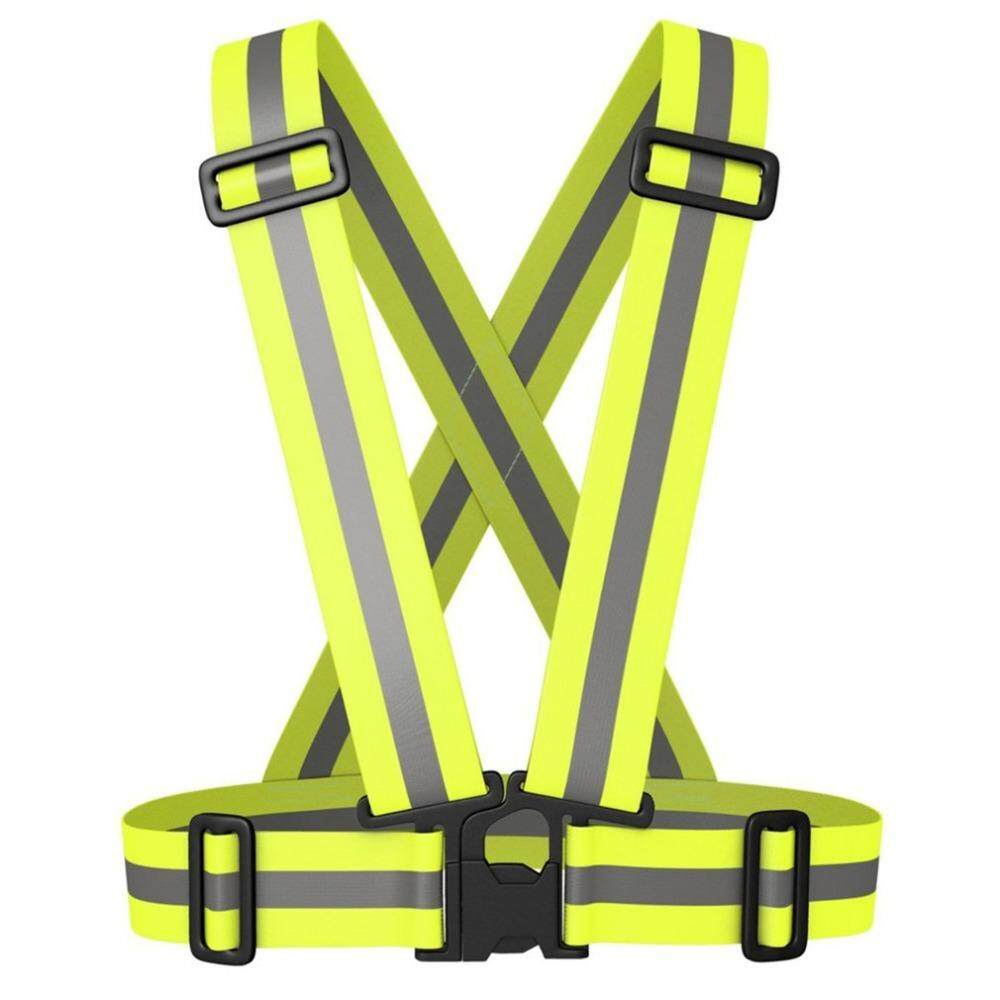 Safety Unisex high visibility reflecting outdoor vest running cycling reflective belt safety vest