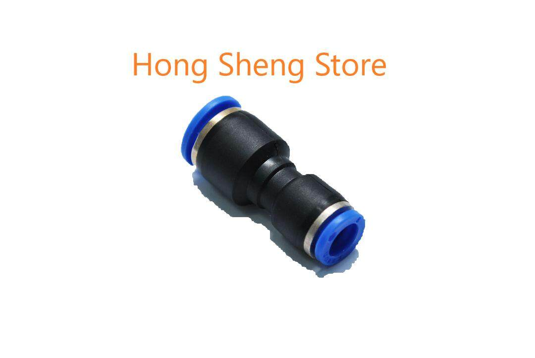 Pg10-06 10mm X 6mm Unequal Union Pneumatic Air Push In Quick Fittings By Hong Sheng Store.
