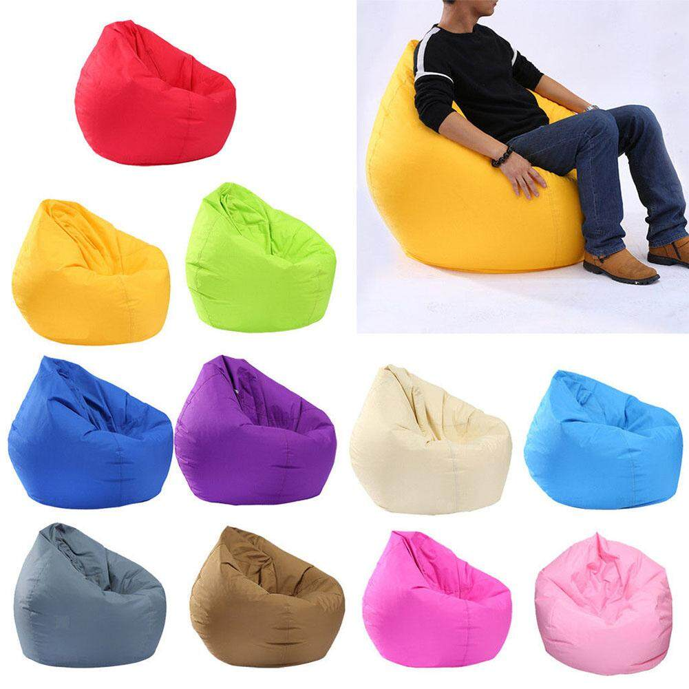 ER Waterproof Stuffed Animal Storage/Toy Bean Bag Solid Color Oxford Chair Cover Large Beanbag(filling is not included)
