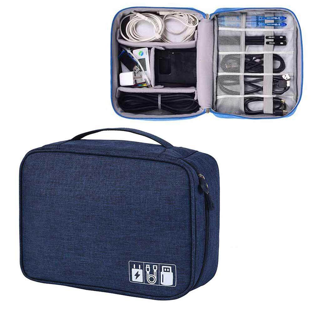 9eacc0b51a4a Teepao Large Electronic Organizer,Travel Universal Cable Organizer Cases  Electronics Accessories Storage Bag for 9.7 Inch Tablet,Headphone ,Cables,  ...