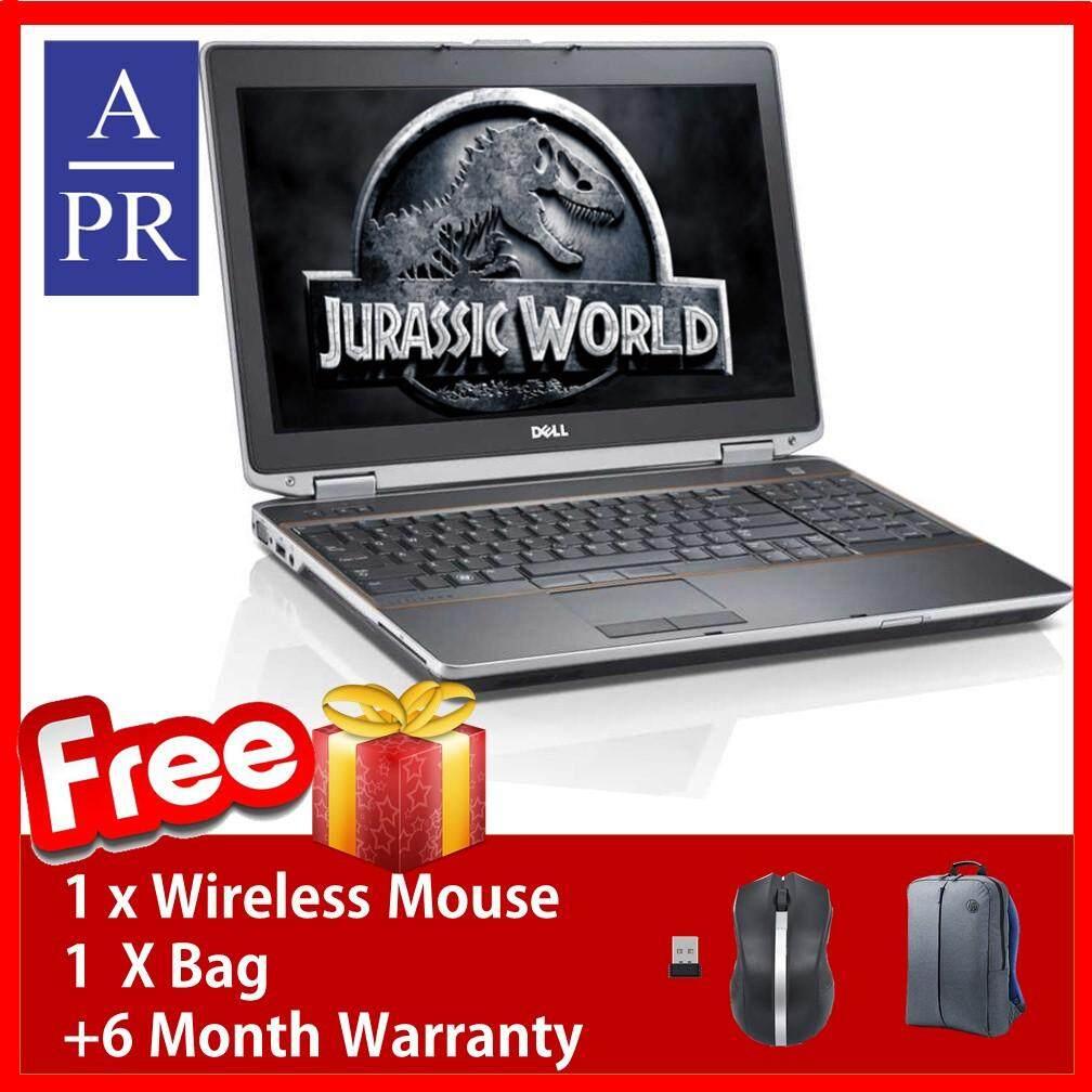 Dell Latitude E6520 Corei5 2430M @ 2.40GHz 8GB 500GB W7PRO 15 ( Factory Refurbished) + 6 Month Warranty ( Super Deal) Malaysia
