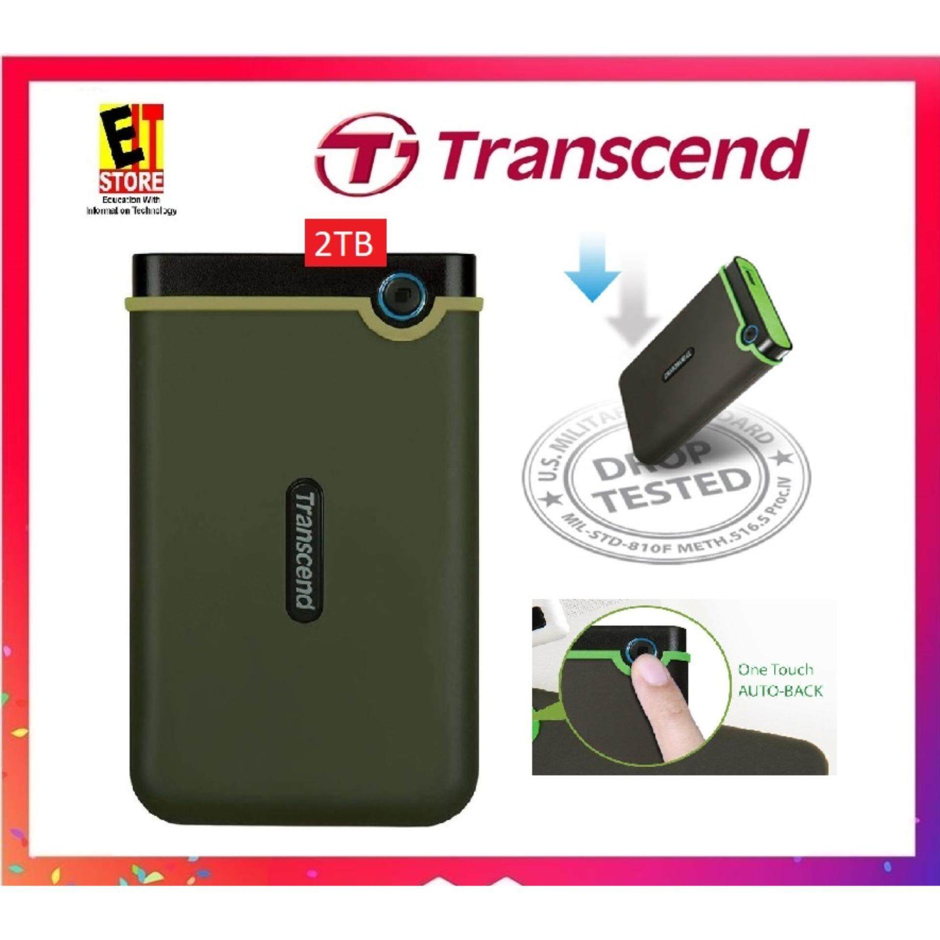 External Hard Drives Disk With Best Price In Malaysia Orico 2588us3 Hdd Harddisk Enclosure 25 Inch Portable Super Speed Usb 30 Transcend Storejet 25m3 Slim 2tb Shockproof Ts2tsj25m3g Military Green