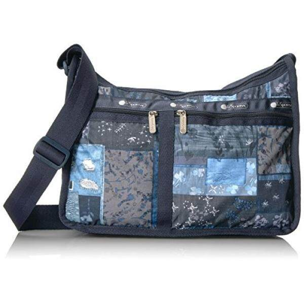 Lesportsac Classic Deluxe Everyday Bag Denim Quilt