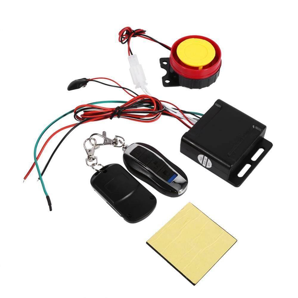 Alarm Systems Accessories Buy At Wiring Diagram Avanza Motorcycle Bike Anti Theft Security System Remote Control 12v