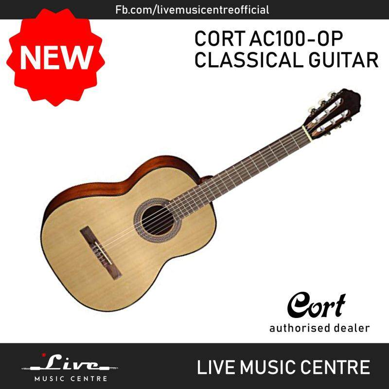 Cort AC100 Classic Series Classical Guitar With Bag Open Pore (AC-100) Malaysia