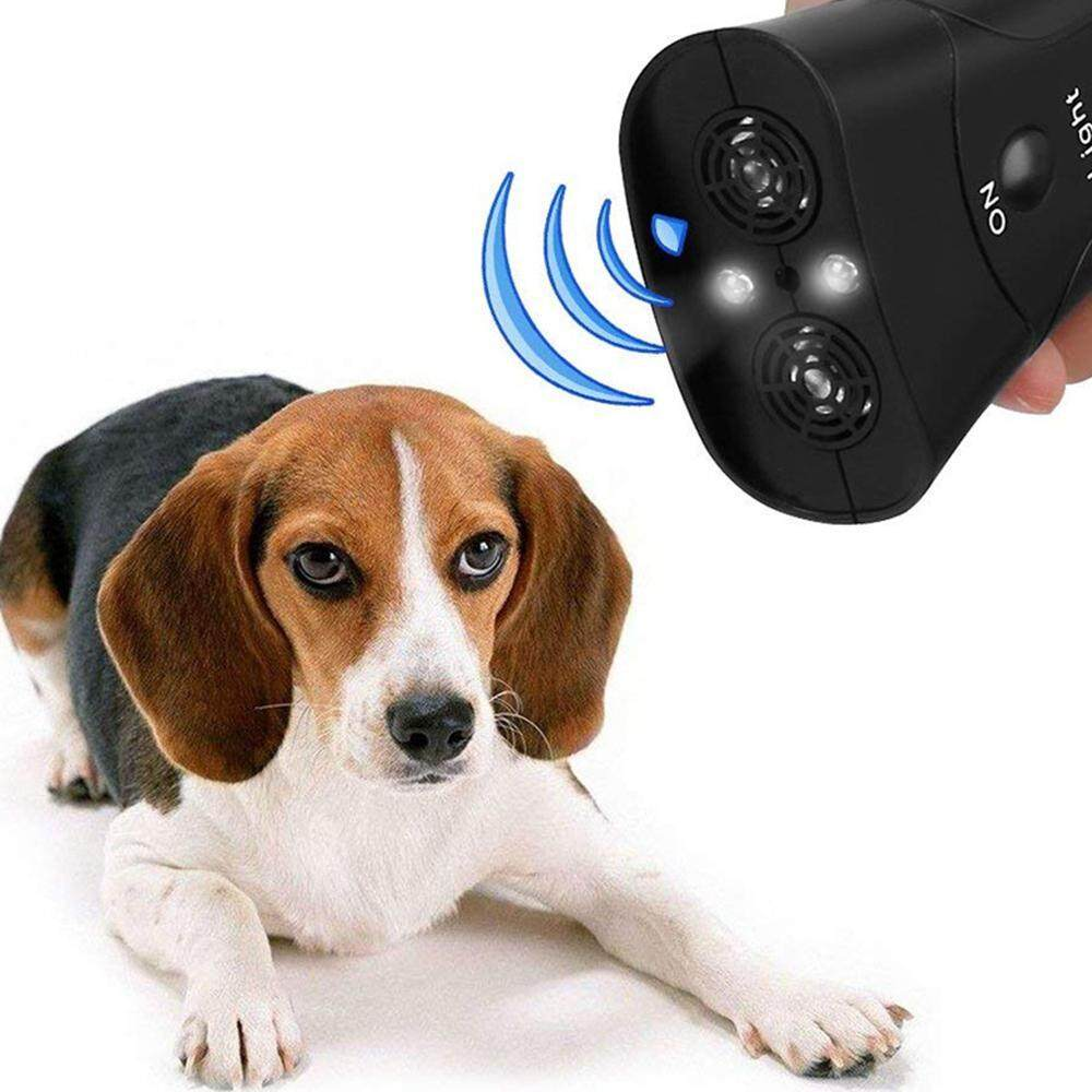 Goodgreat Ultrasonic Anti Dog Barking Device, Handheld Dog Repellent, Bark Control Training Tool, No Barking Repeller Stopper, Sonic Bark Deterrents Silencer, Safe For Small/medium/large Dogs Outdoor Use By Good&great.