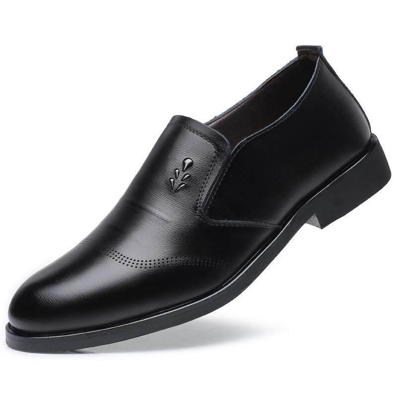 European Classic Business Men Premium Leather Oxford Formal Shoes