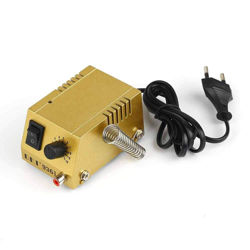 Doxiy Mini Electric Power Adjustable Soldering Station Solder Iron Welding Tool
