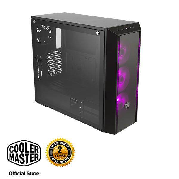 Cooler Master MasterBox Pro 5 RGB E-ATX Gaming Case with Tempered Glass Side Panel Malaysia