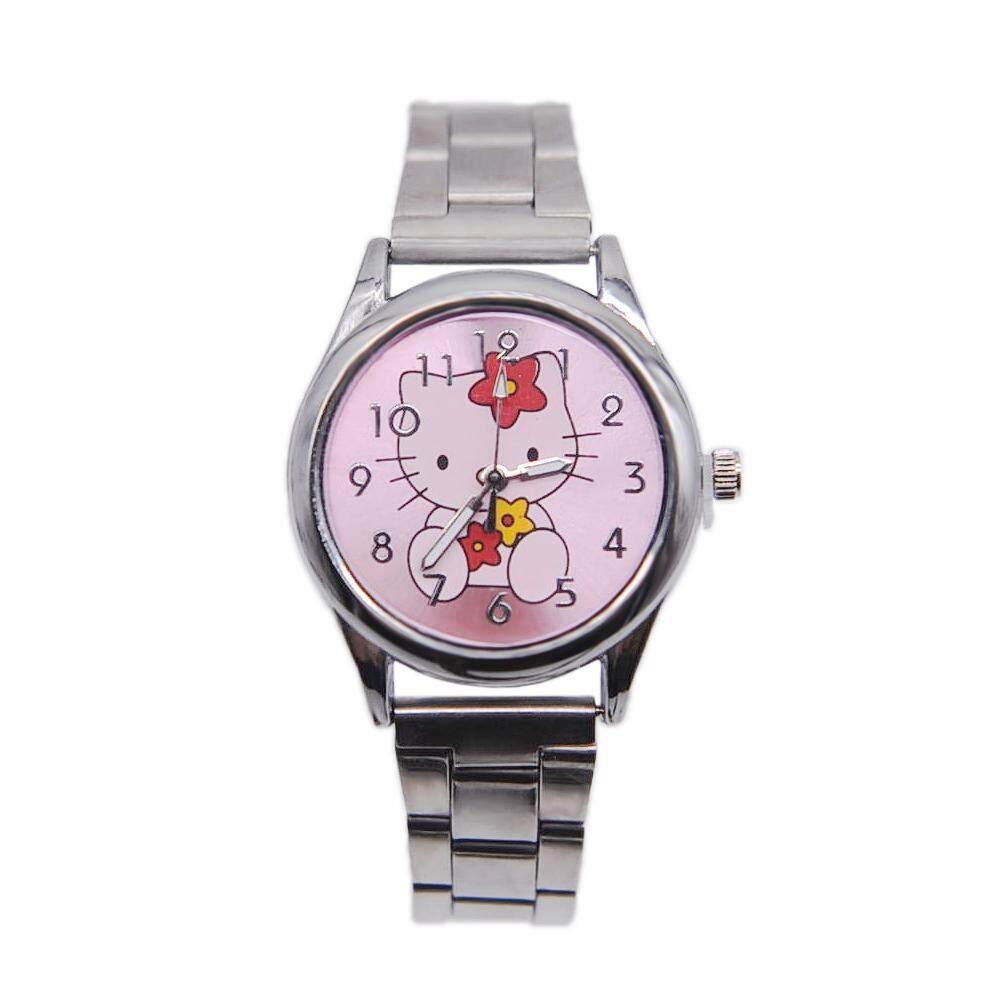 Cartoon girl quartz Doraemon wrist watches Kids watch 15 Malaysia