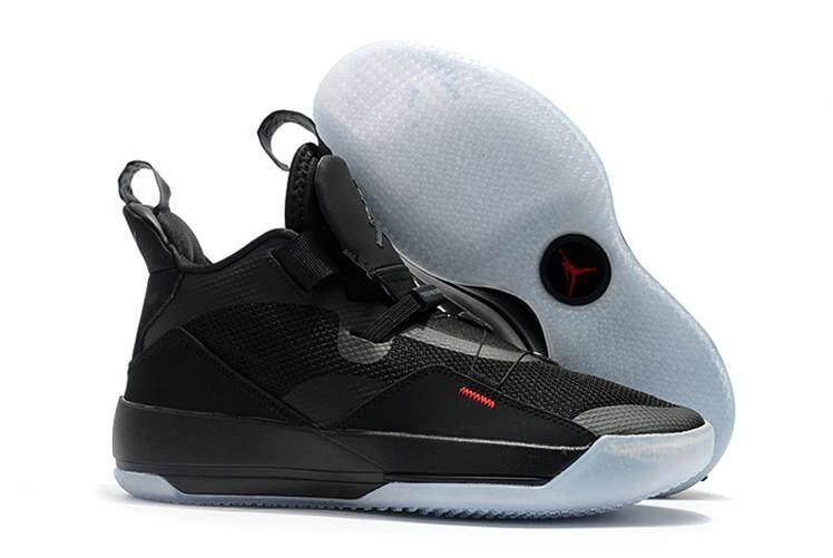 Nike Original Michael Jordan 33 MEN Basketaball Shoe Black Purple Global  Sales Air Jordan MJ AJ 8cc75e924