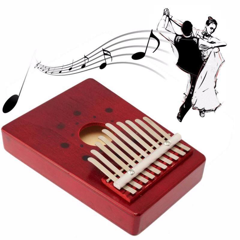 10 Key Pine Thumb Finger Music Piano Kalimba Mbira Likembe Musical Instrument Malaysia