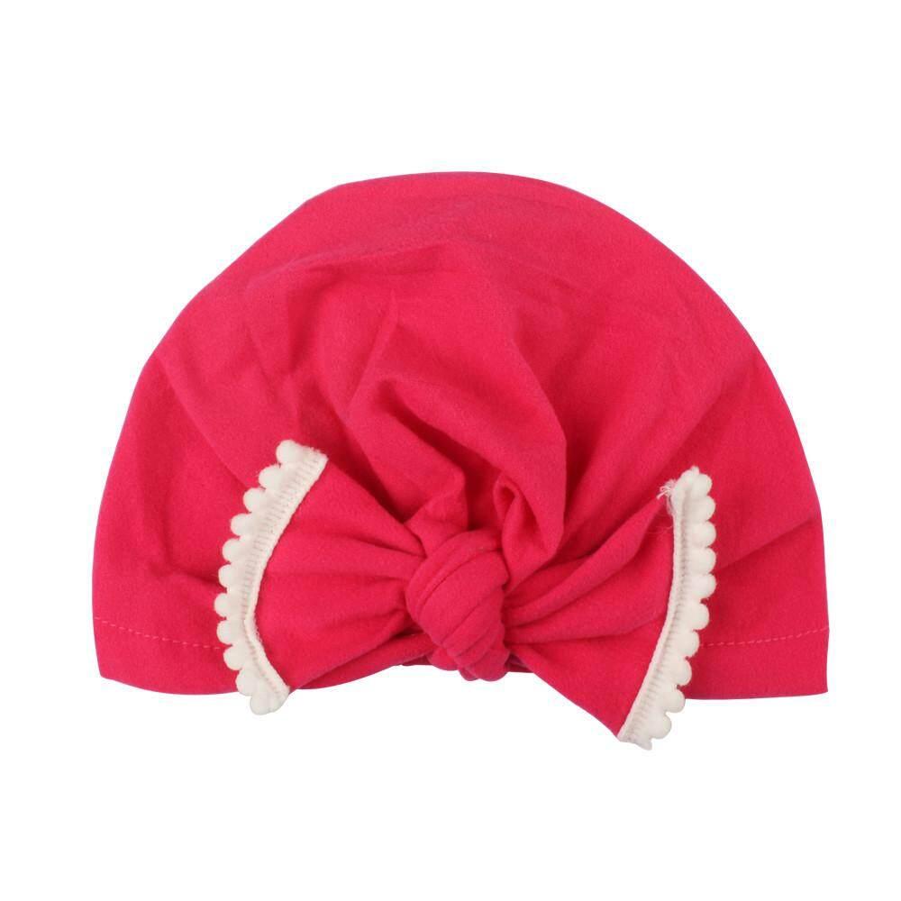 3f7bd38486d7a Laceyshop Cute Newborn Toddler Kids Baby Boy Girl Turban Cotton Beanie Hat  Winter Warm Cap