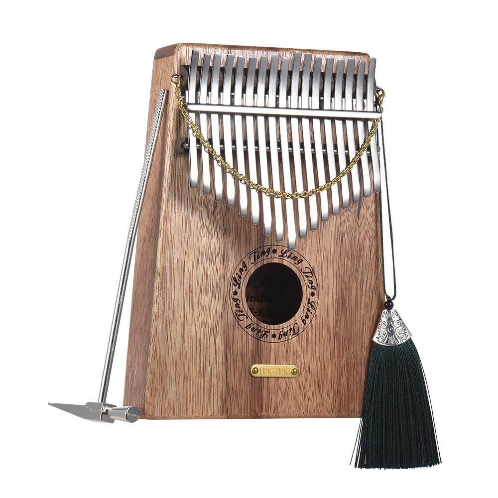 17-key Kalimba Thumb Piano Mbira Sanza Swartizia Spp Solid Wood