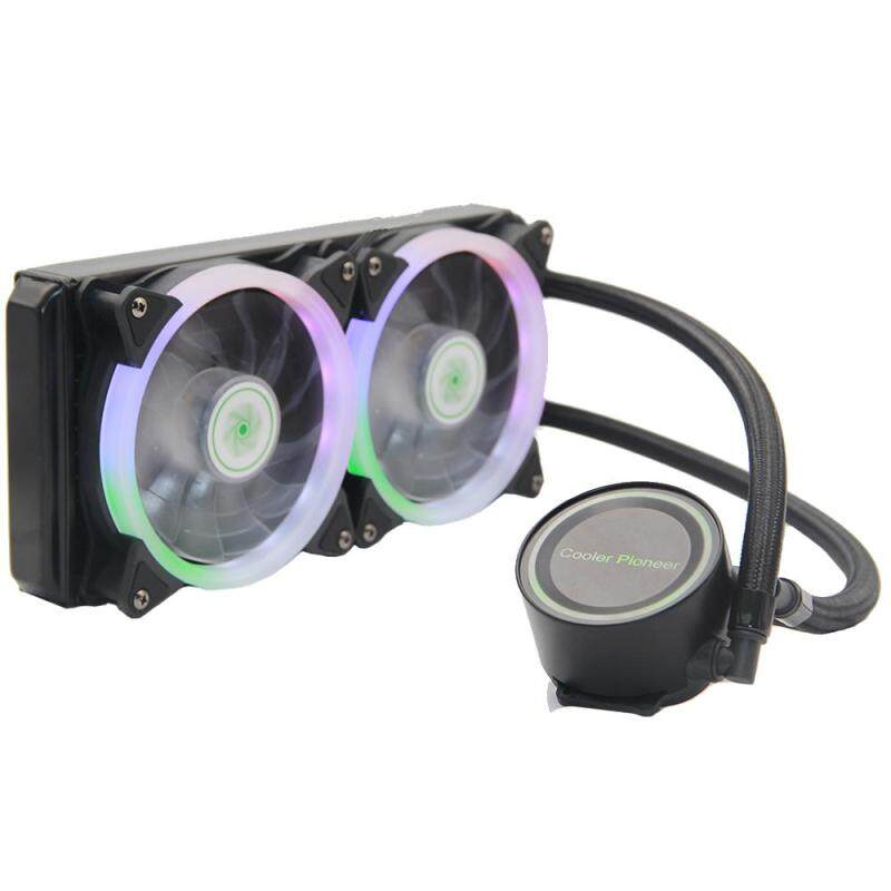 Cooler Master 240L CPU Cooler 240mm Radiator Dual Dissipation Pump PWM LED Fan Cooling for Computer Proccesor Malaysia