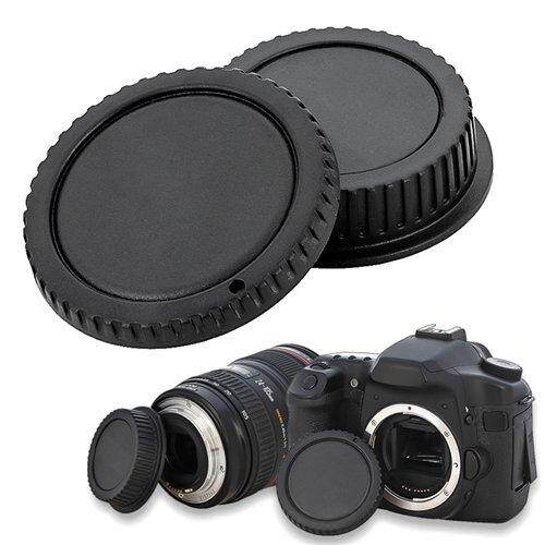 Camera Body Cap And Rear Lens Cover Cap For Canon Eos By Happyang.