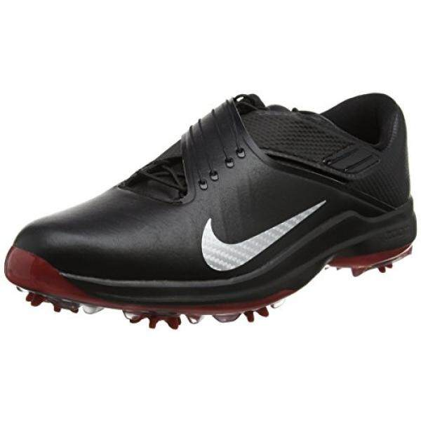 finest selection cc51c ed5d7 Nike Mens TW17 Golf Shoes, Black Metallic Silver-Anthracite, US