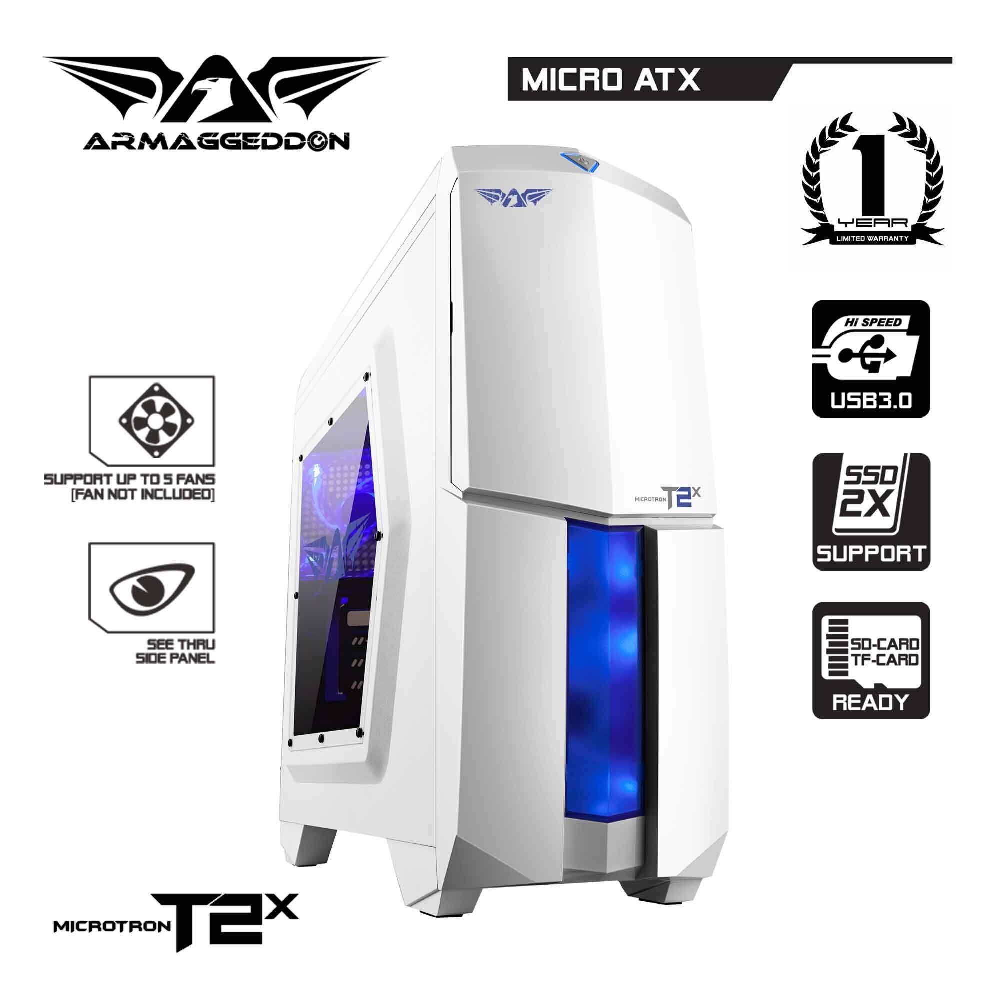 (PROMOTION) Armaggeddon Microtron T2x Gaming PC Chassis Malaysia