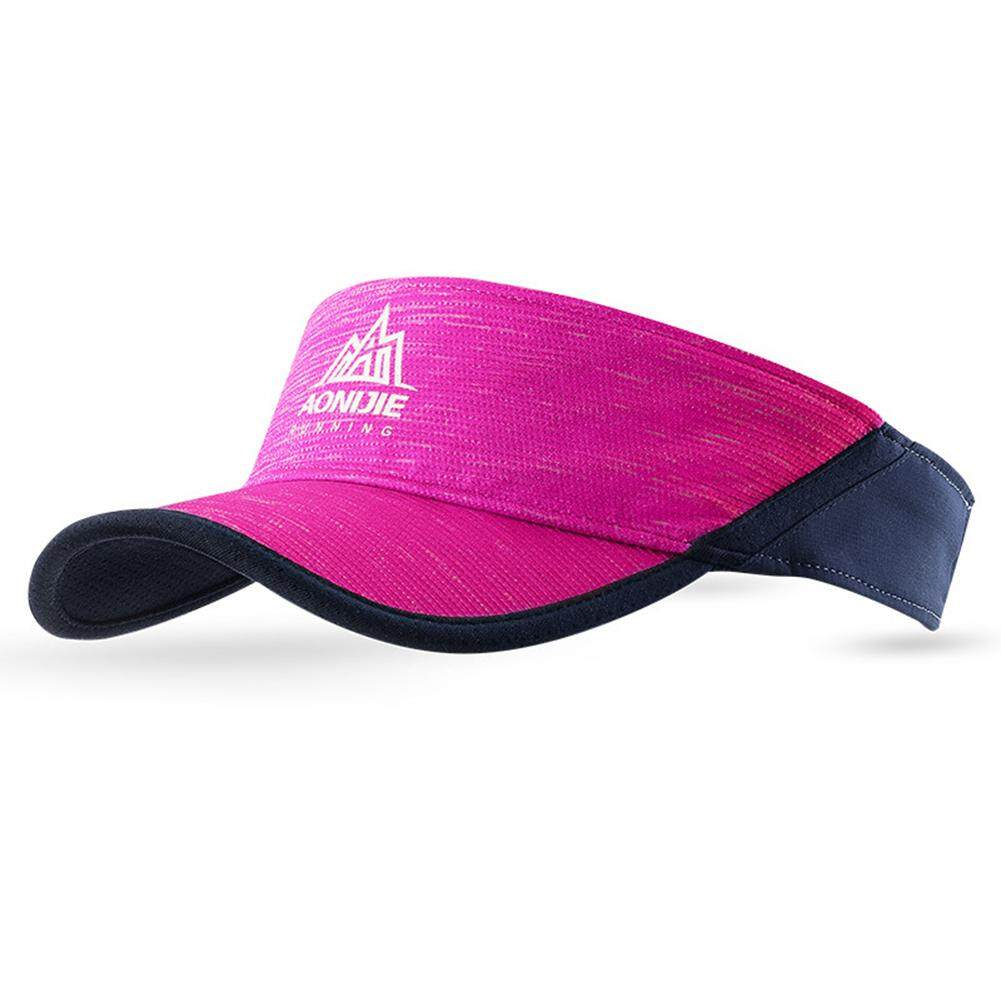 84fc5479a HiQueen Stylish Visor Cap Adjustable Sun Hat Peaked Cap for Outdoor Running  Sports Birthday Festival Gift