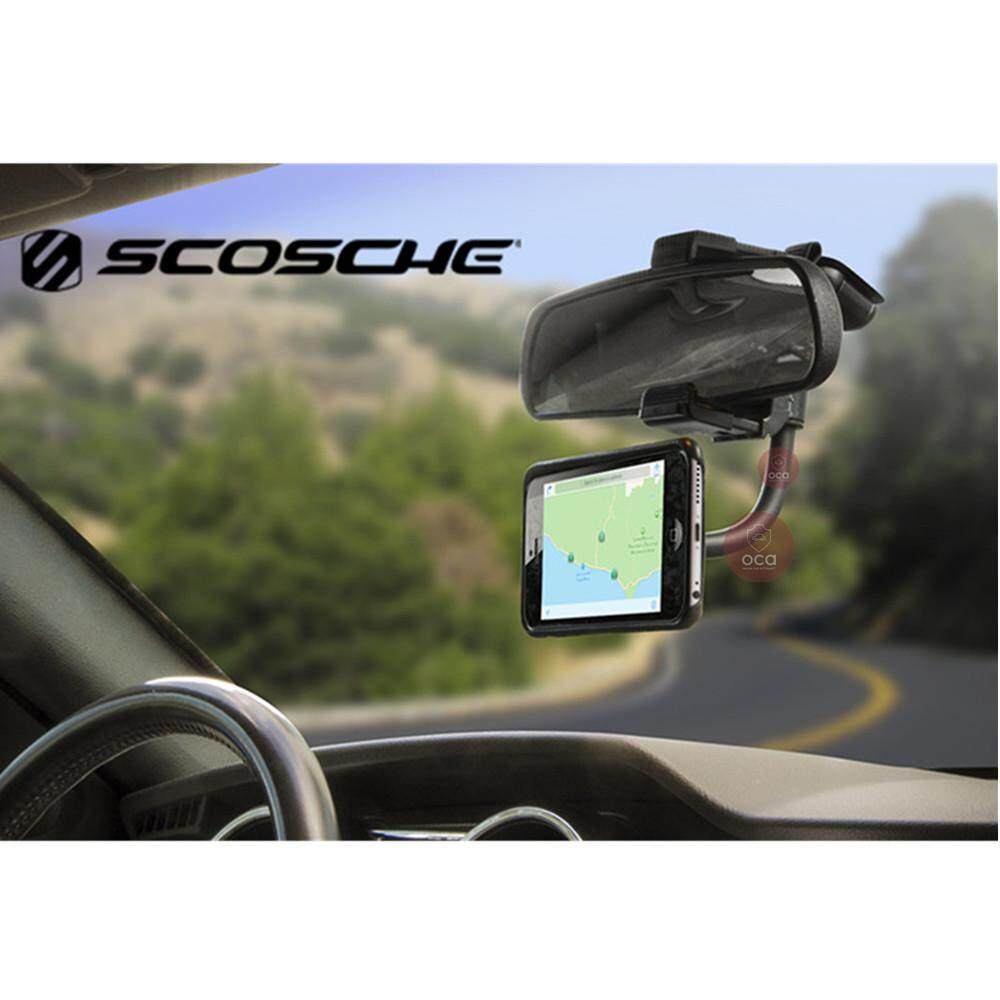 2a94e61188912 Scosche magicMOUNT Magnetic Phone gps Rear View Mirror Mount for Car  (Magrvm2)