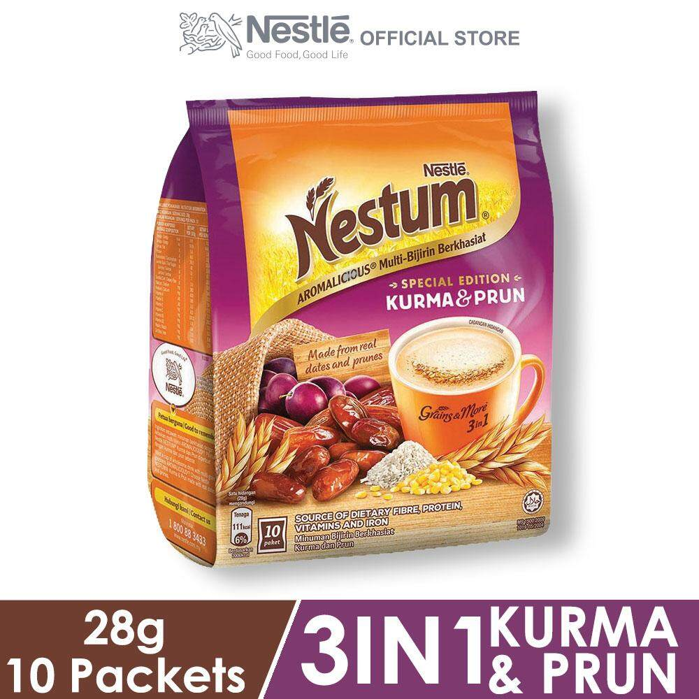 Nestle Nestum Grains & More 3in1 Dates & Prunes 10 Packets 28g By Nestle Flagship Store.