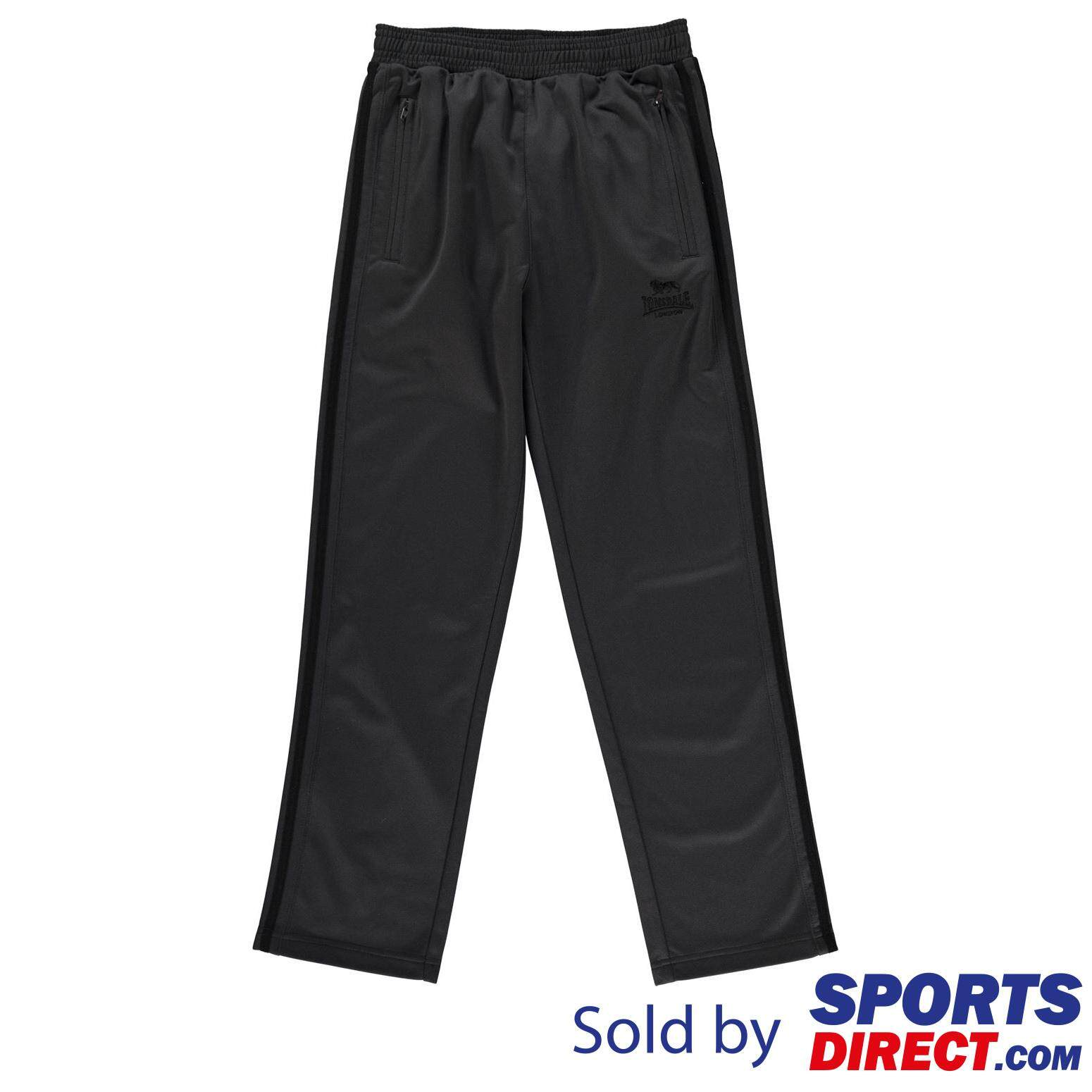 Lonsdale Kids Boys Tracksuit Pants (charcoal/black) By Sports Direct Mst Sdn Bhd.