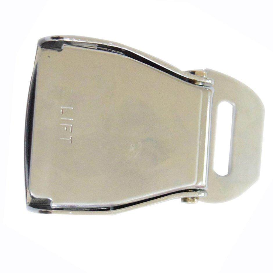 Point high quality Aluminium aircraft safety belt buckle airplane seat belt buckle