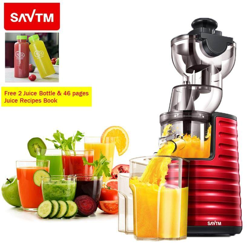 Savtm Je-31 Whole Slow Juicer 100% Fresh Fruit Juice Extraction Blender Maker With Free Gifts By Cs Mall.
