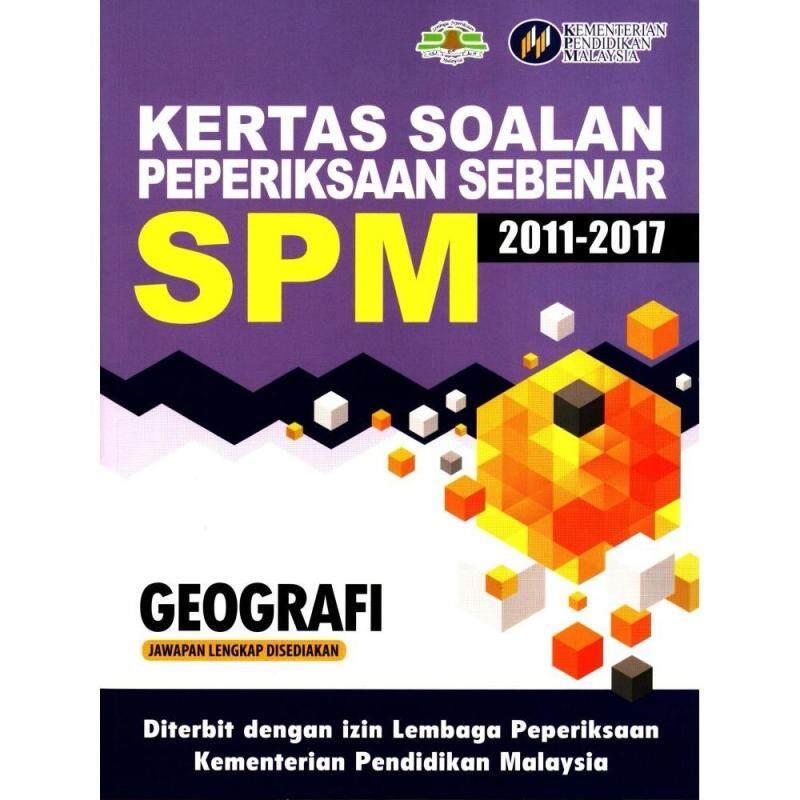 MBQ Kertas Soalan Peperiksaan Sebenar SPM Geografi (2011-2017) Malaysia