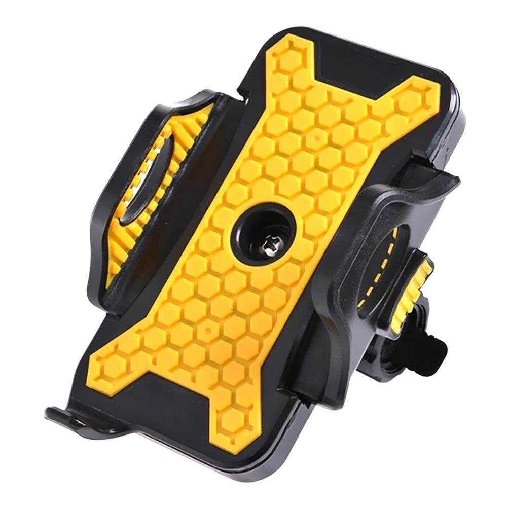 Universal Motorcycle Mtb Bike Bicycle Handlebar Mount Holder For Ipod Cell Phone Gps Stand Holder For Iphone Samsung (color: Yellow & Black) By Yomichew.