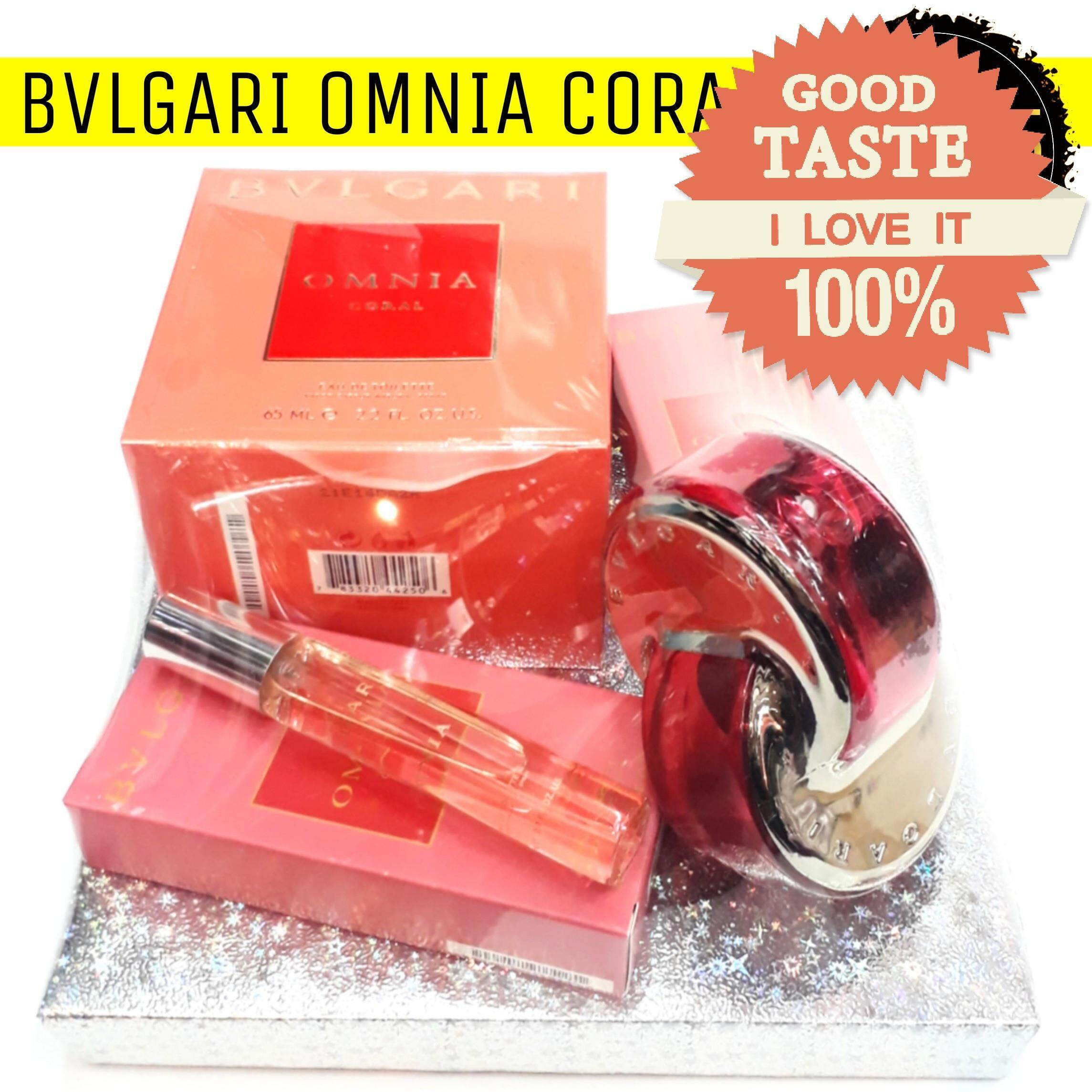 Bvlgari Buy At Best Price In Malaysia Omnia Amethyste 65 Ml Non Box Coral Edt Perfume Gift Set