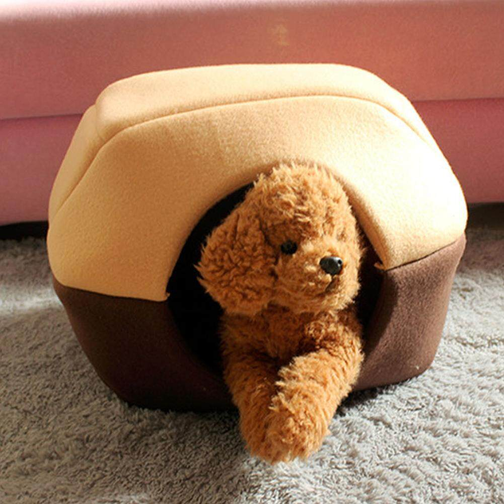 Magic Cube Foldable Soft Warm Winter Cat Dog Bed House Animal Puppy Cave Sleeping Mat Pad Nest Kennel Pet Supplies By Magic Cube Express.